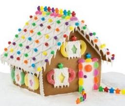 Gingerbread House Patterns | Hobbit House - Gingerbread House Patterns