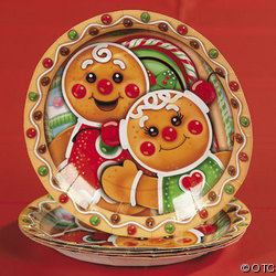 Candytown Dessert Plates. Perfect for holiday goodies these candytown dessert plates have a fun gingerbread man design. The little Gingers have the cutest ...  sc 1 st  Gingerbread Fun & Candy | Gingerbread Fun