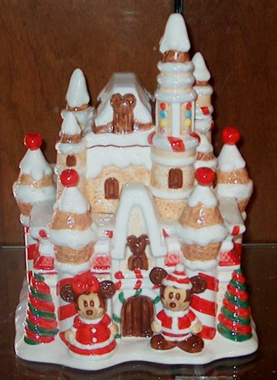 Ceramic gingerbread house cookie jar pictures