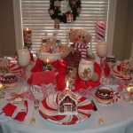 Gingerbread tablescape 1