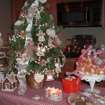 Gingerbread tablescape 3
