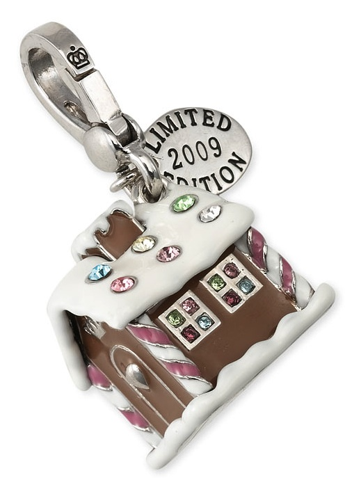 Juicy Couture 2009 Gingerbread House Charm