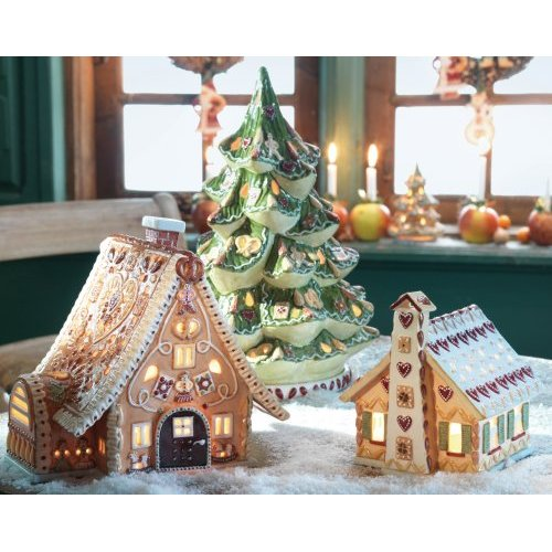 villeroy boch ginger village tableware collection is here gingerbread fun. Black Bedroom Furniture Sets. Home Design Ideas