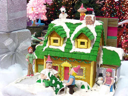 Family Guy Gingerbread House