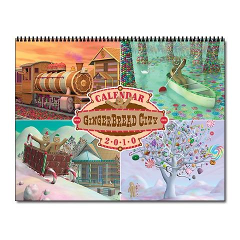 Calendar gingerbread