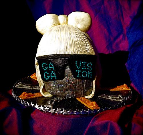Lady Ga Ga cake