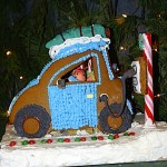 Electric Car Gingerbread