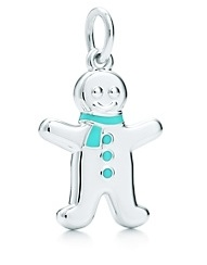 Tiffany Sterling Silver Gingerbread Man Charm 2