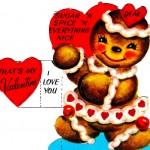 Vintage Gingerbread Valentine