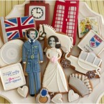 Royal Wedding Gingerbread Cookies