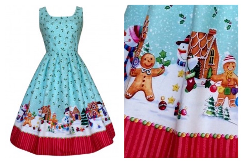 Holiday Gingerbread Dress Pigtails and Pirates