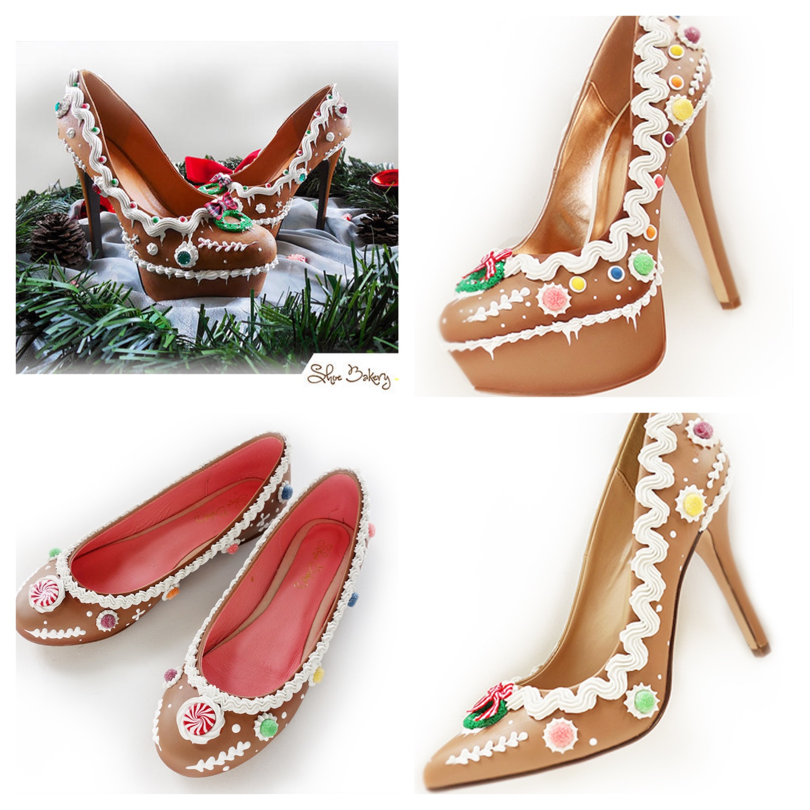 Gingerbread Shoes from Shoe Bakery